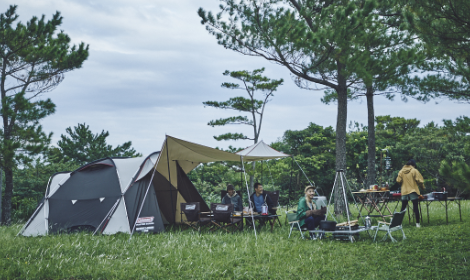 自由なキャンプスタイル