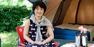 家族でのキャンプを通して感じたこと。Como大隅優子編集長インタビュー
