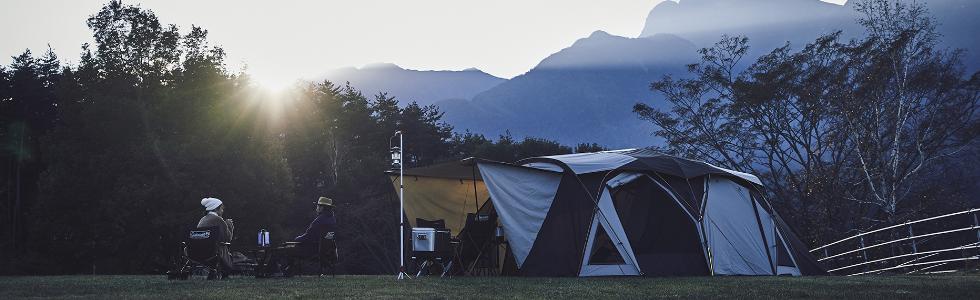 新しいキャンプスタイルを目指して