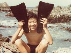 中学時代、房総半島の根本キャンプ場でキャンプの楽しさを知ったという