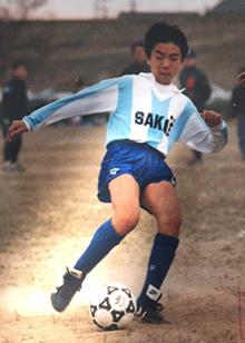 サッカーでの経験が現在の西川さんに大きな影響を与えた