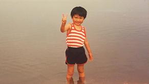 家族や親せきもみんなアウトドア好きという恵まれた環境で、キャンプデビューも4歳だった